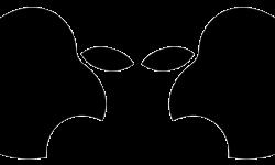 Apple logo alien
