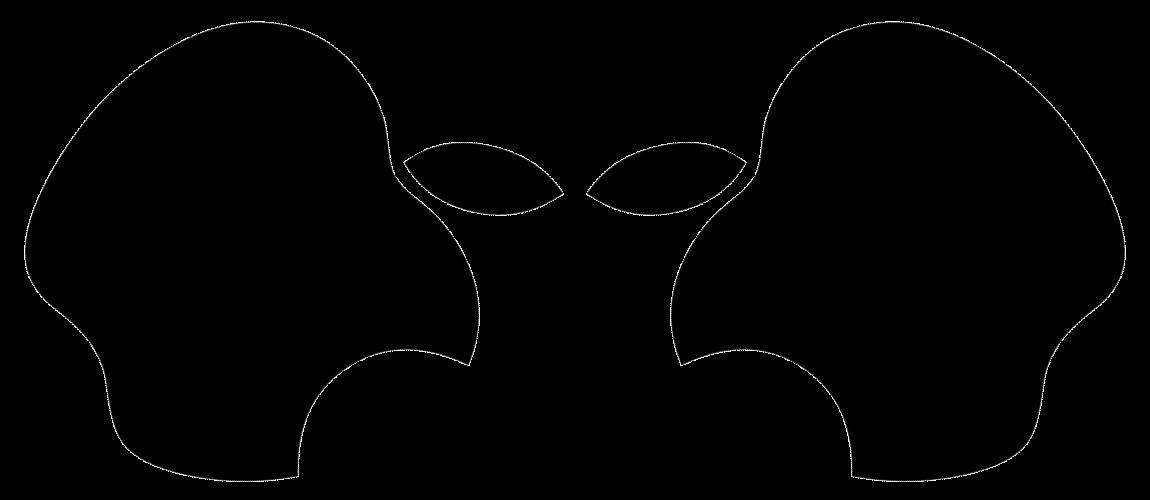 Apple logo alien Wallpaper