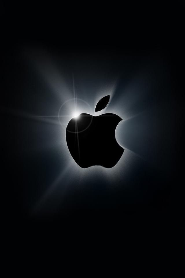 Apple logo iphone wallpaper Wallpaper