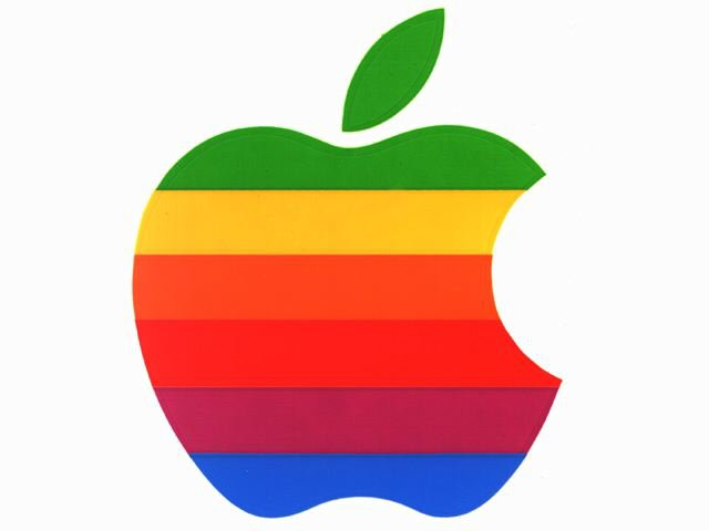 Apple logos Wallpaper