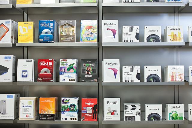 Apple store software Wallpaper