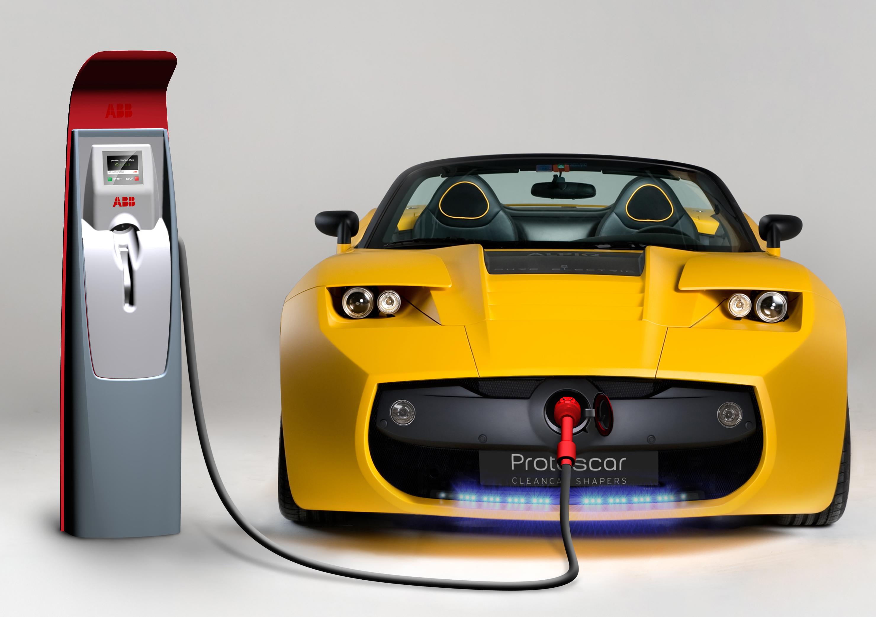 Electric cars Wallpaper