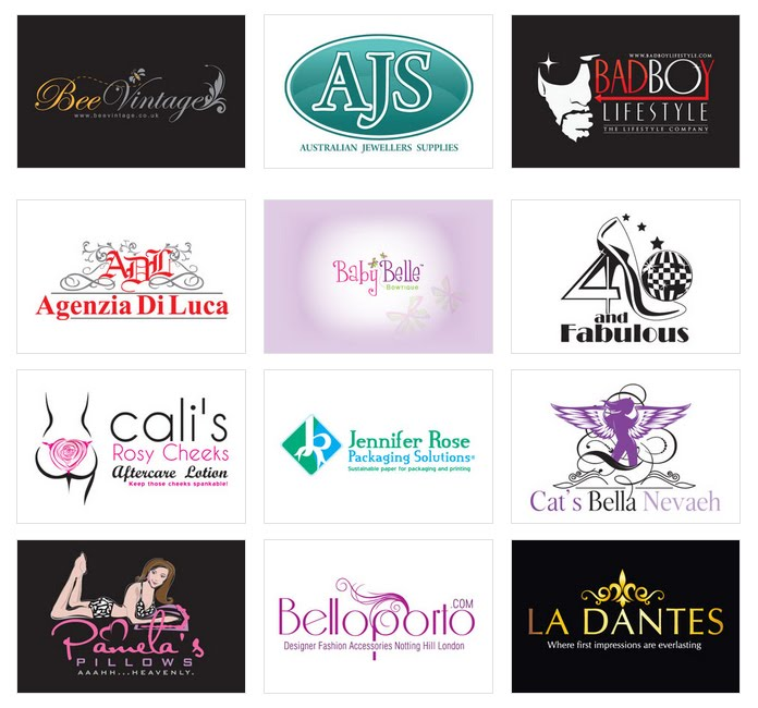 Fashion logo design Wallpaper