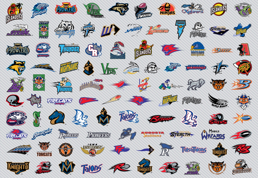 Football logos Wallpaper