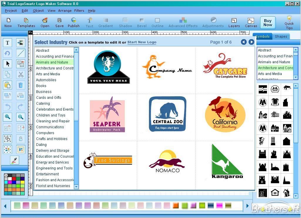 Free logo generator Wallpaper