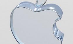 Glass Apple logo
