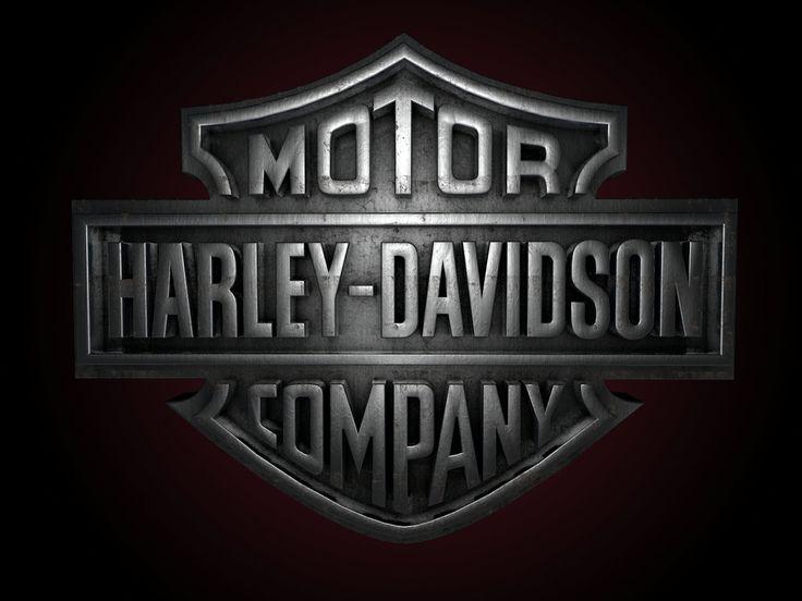 Harley davidson logo 3D Wallpaper