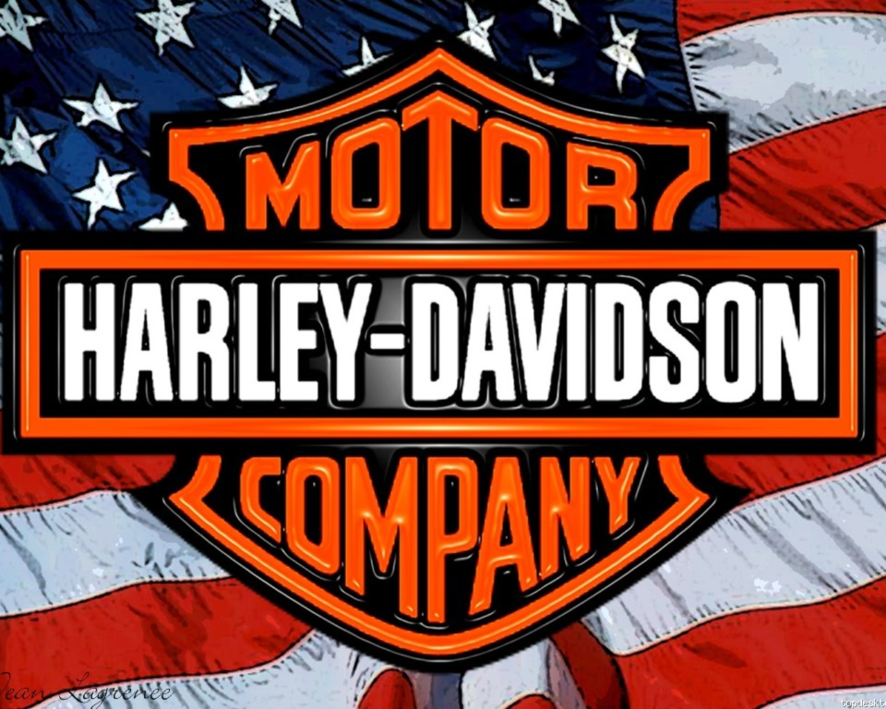 Harley davidson symbol Wallpaper