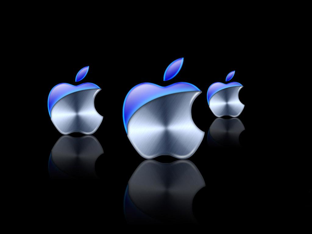 New Apple logo Wallpaper