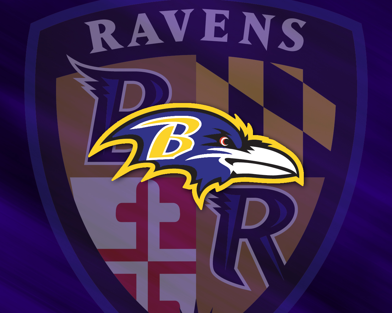 Ravens logo Wallpaper