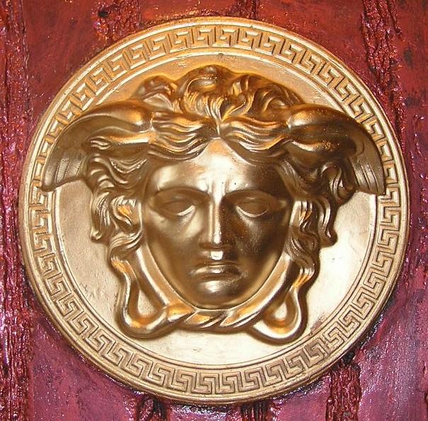 Versace logo 3D Wallpaper