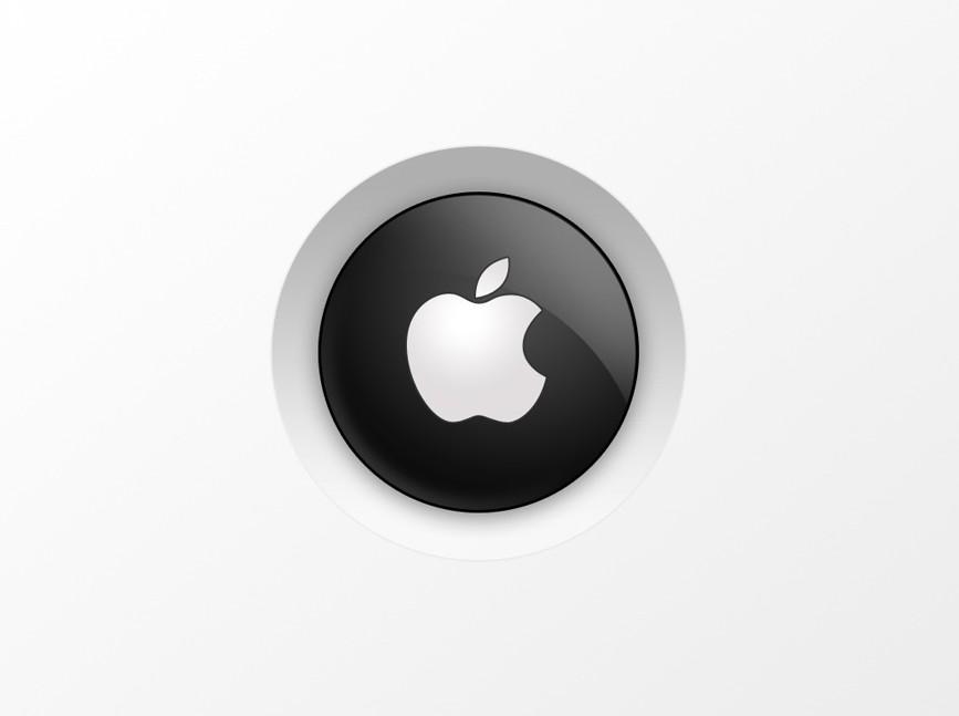 Аirst Apple logo Wallpaper