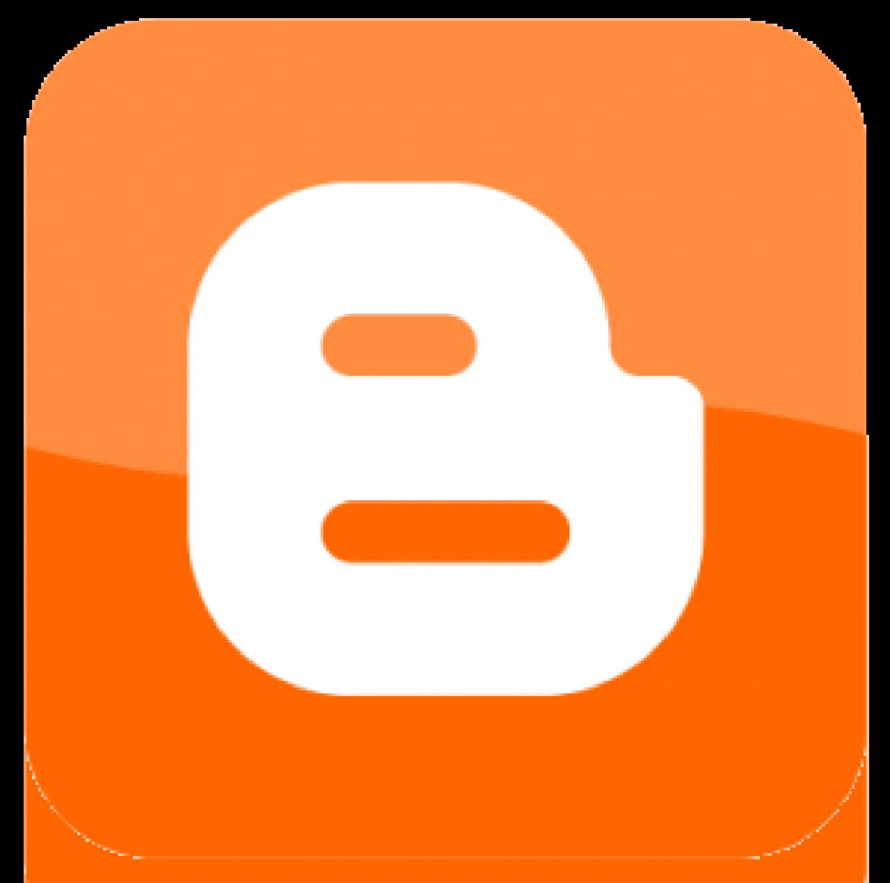 Blogger logo Wallpaper