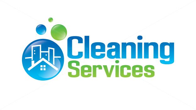 Cleaning logo Wallpaper