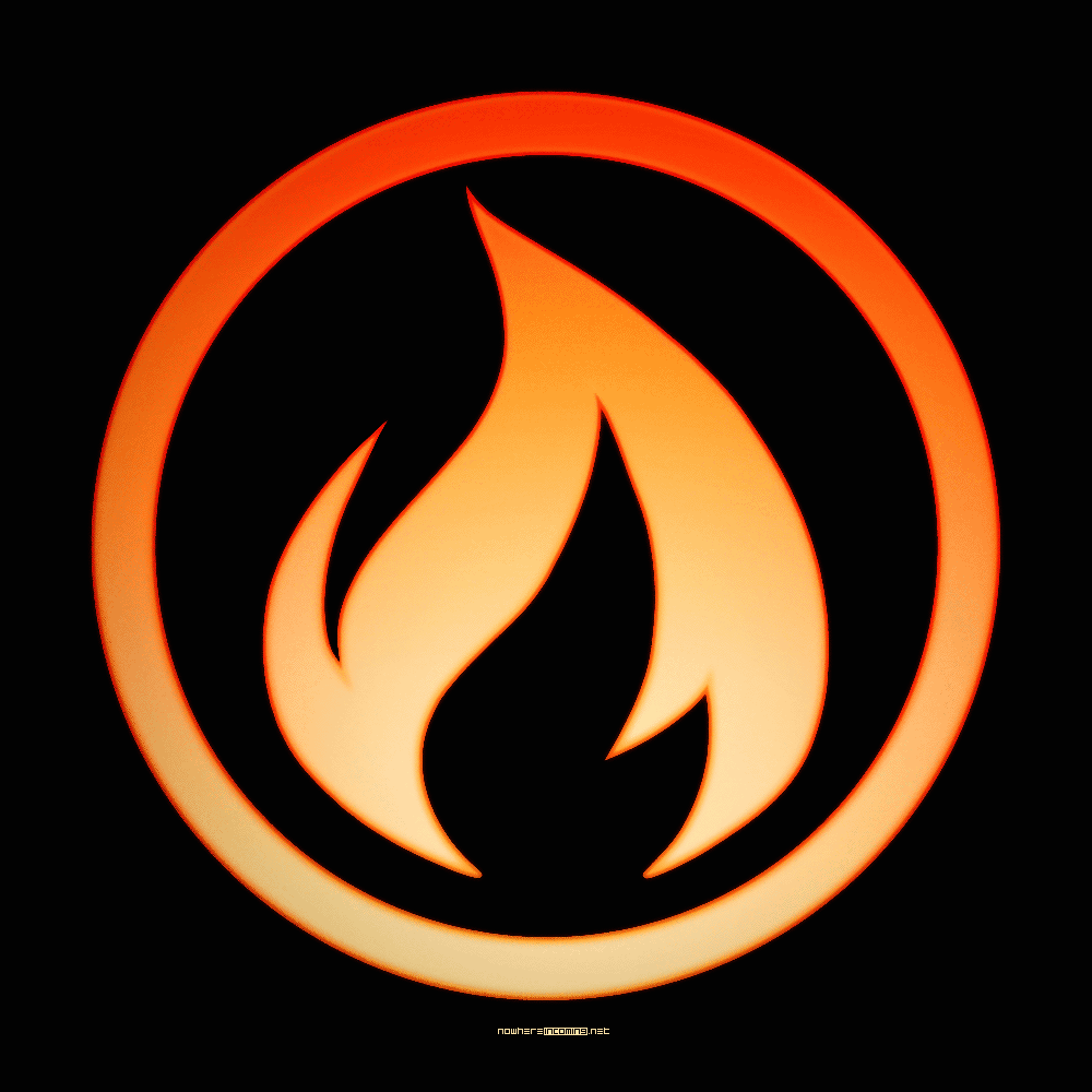 Fire logo Wallpaper
