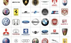 Foreign car logos