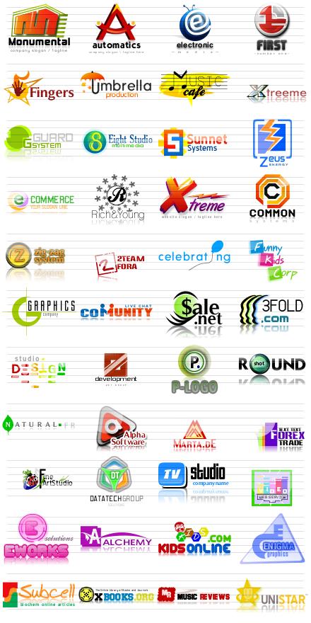 Letter logos Wallpaper