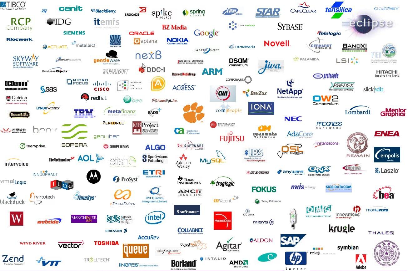 Logo software Wallpaper