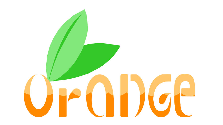 Orange logo Wallpaper