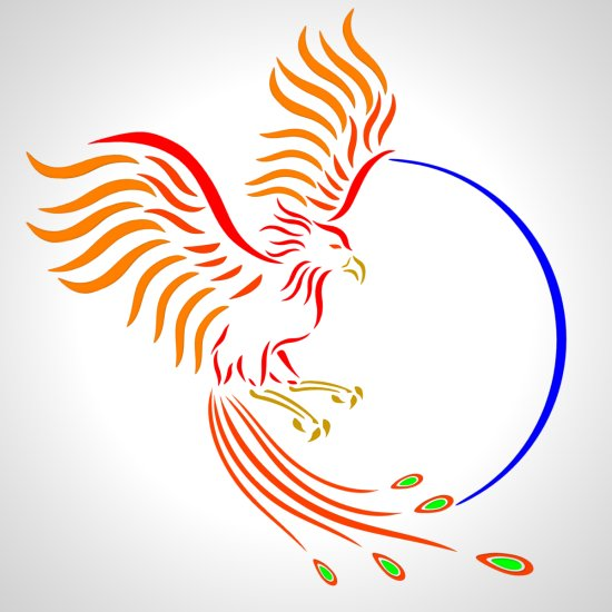 Phoenix logo Wallpaper