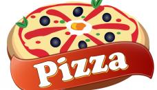 Pizza logos