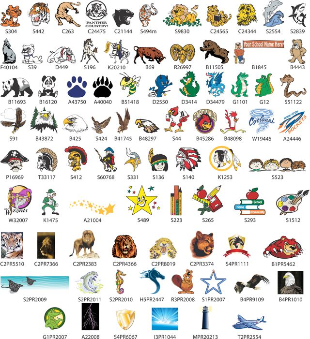School Logos Wallpaper