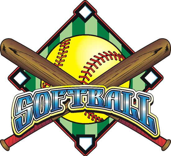 Softball logos Wallpaper