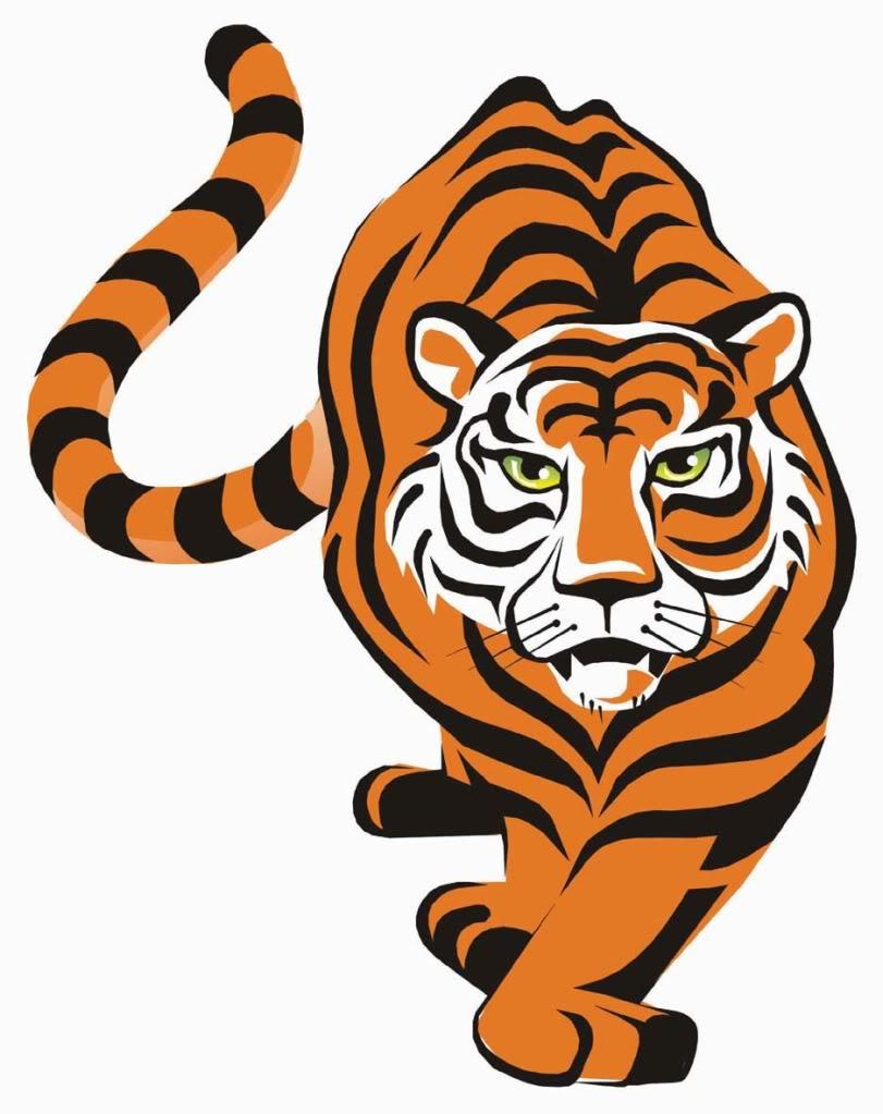 Tiger logo Wallpaper