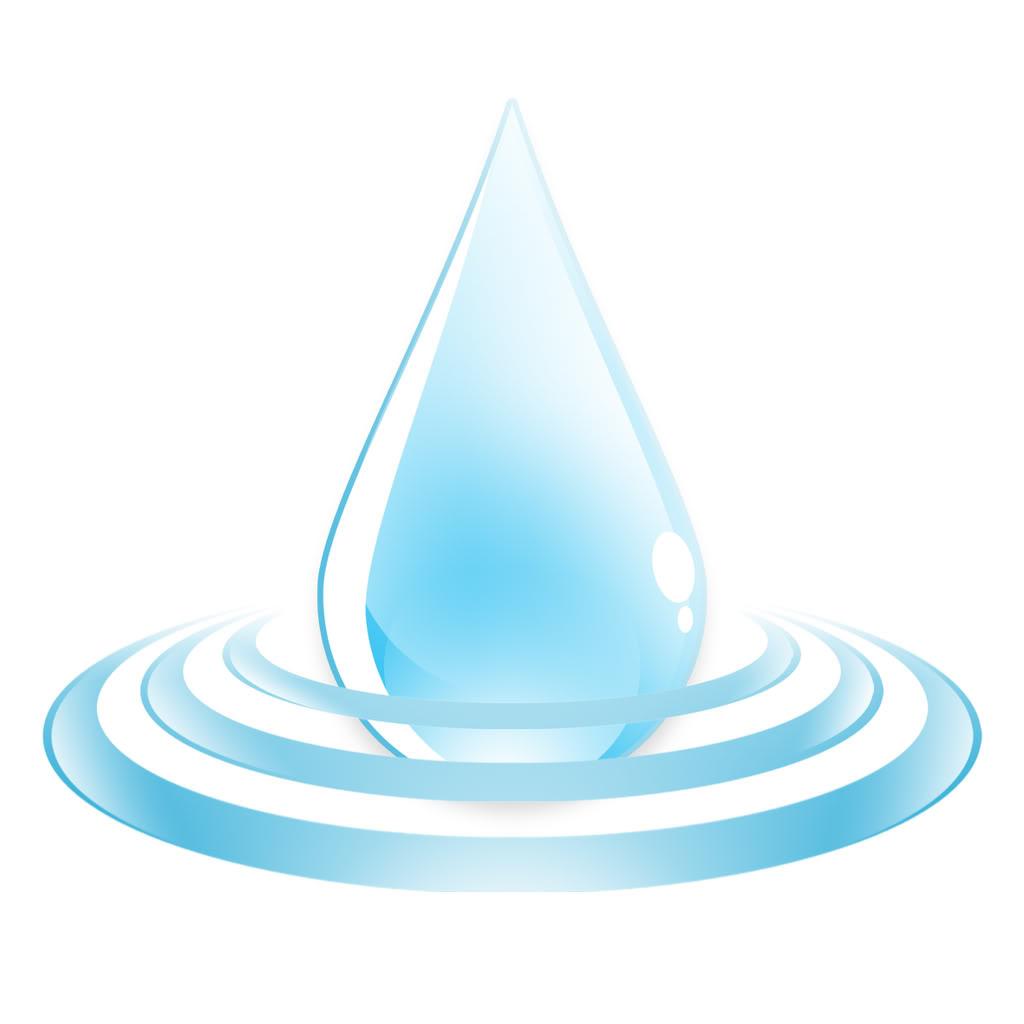 Water logo Wallpaper