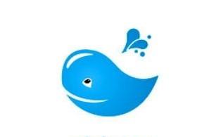 Whale logo Wallpaper