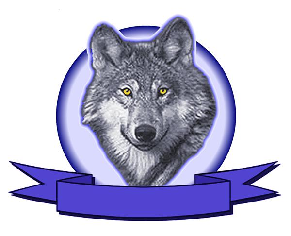 Wolf logo Wallpaper