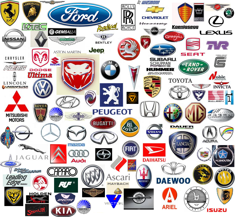 Сar manufacturer logos Wallpaper