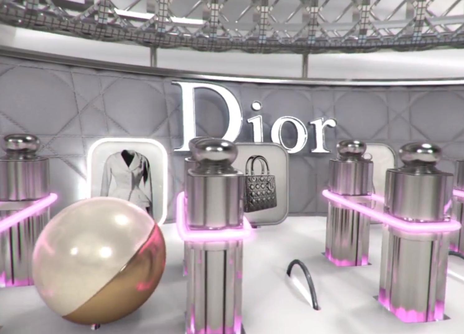 Dior logo Wallpaper