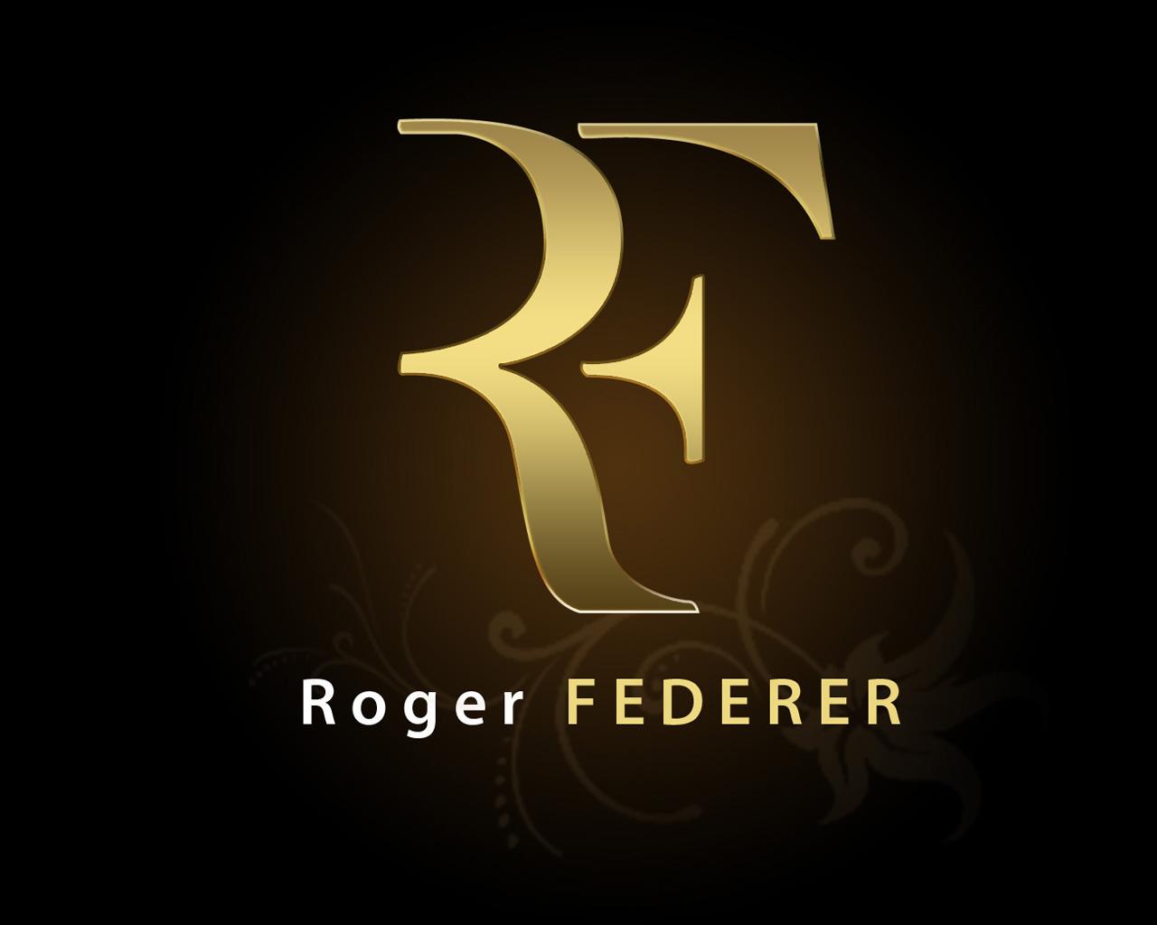 Roger federer logo Wallpaper