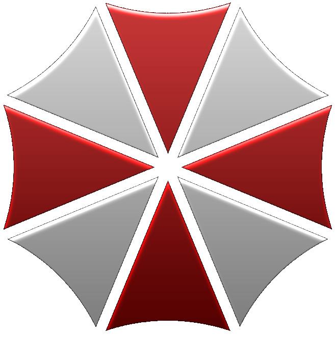 Umbrella logo Wallpaper