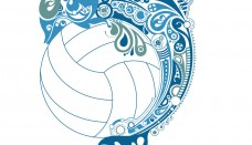 Volleyball logos