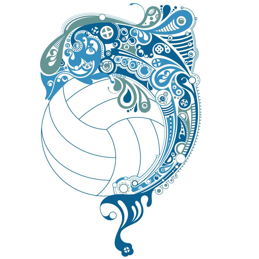 Volleyball logos Wallpaper