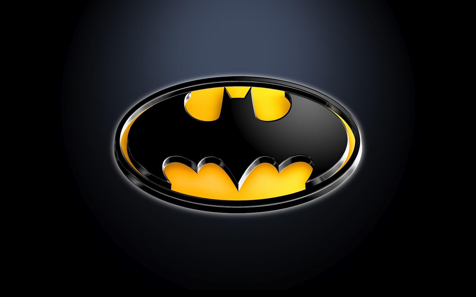 Batman Logo 3D Wallpaper