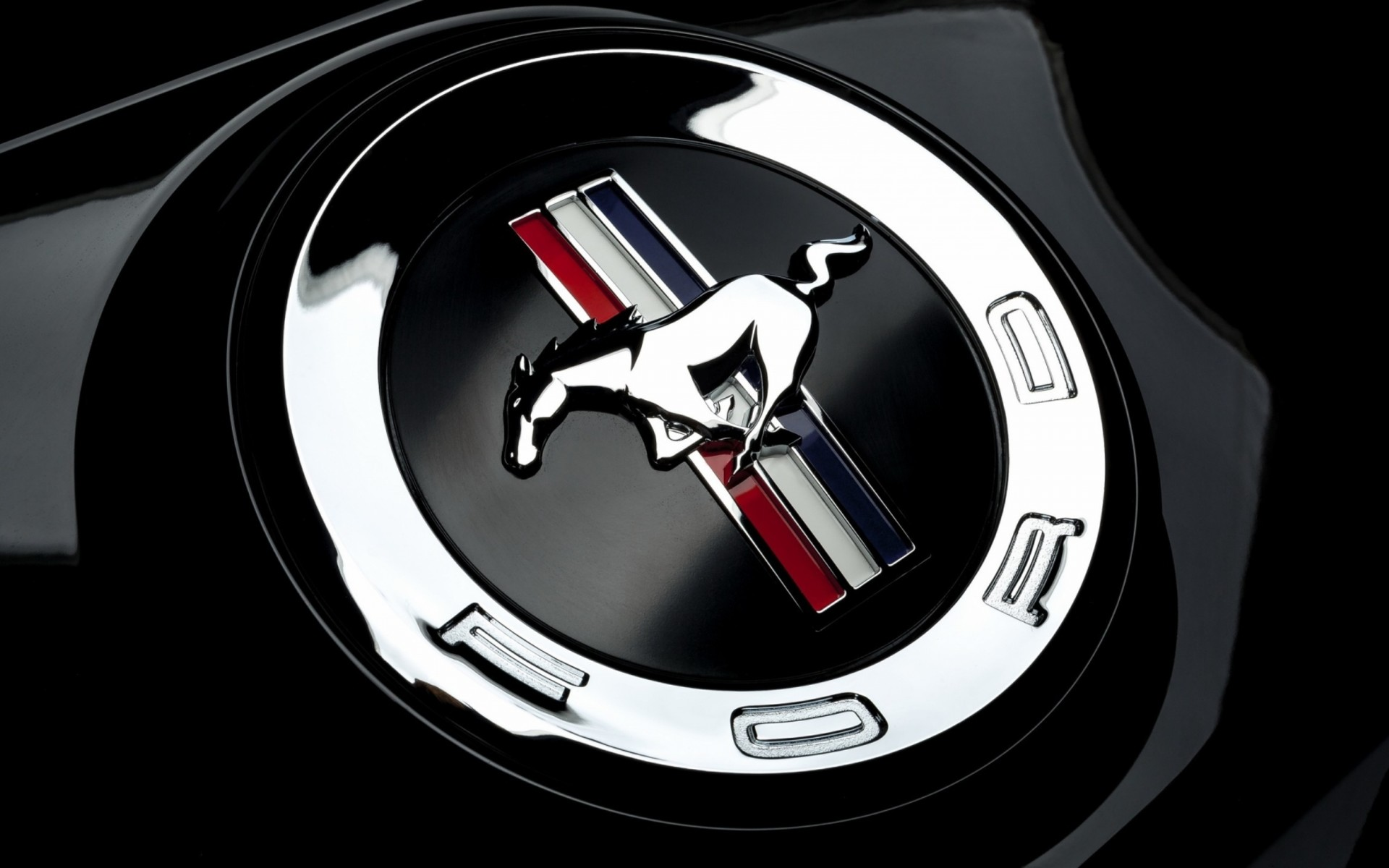 Ford Mustang logo Wallpaper HD 3D Wallpaper