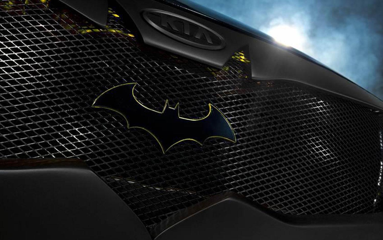 Batman Car emblem Wallpaper