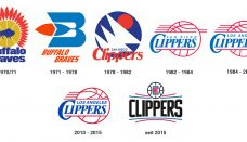 LA Clippers logo history