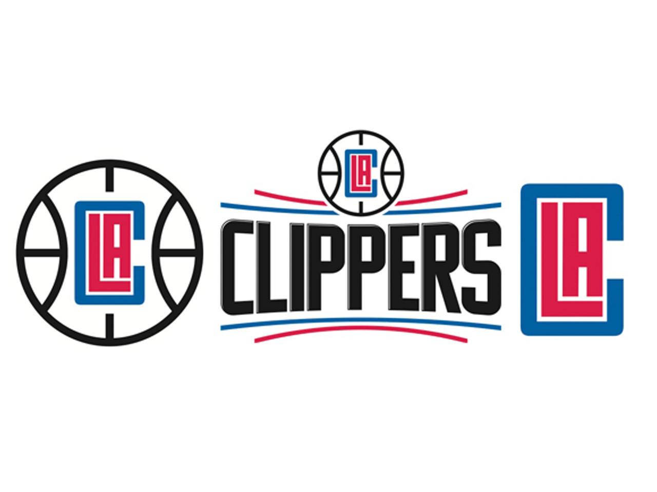 LA Clippers logo Wallpaper