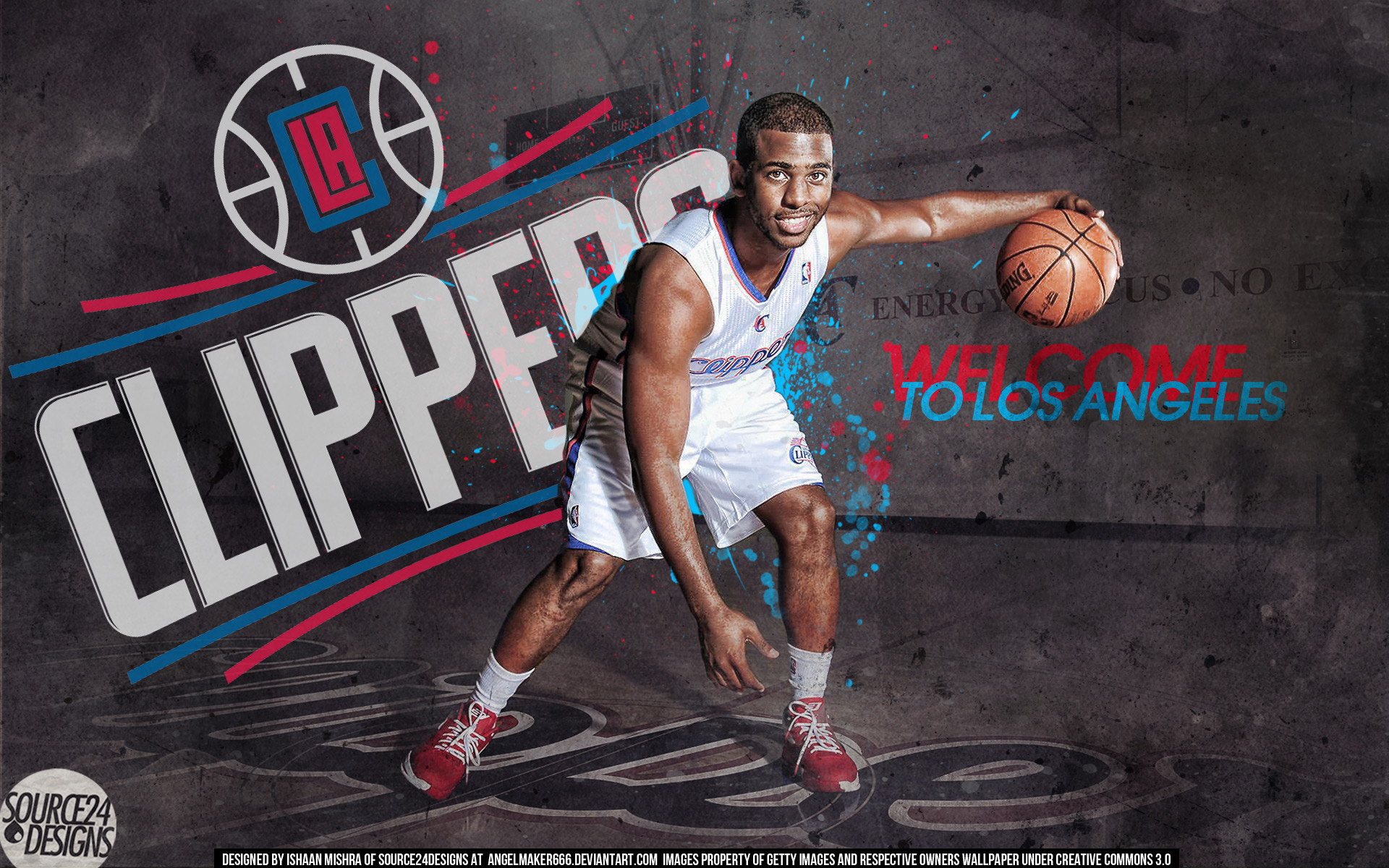 LA Clippers Wallpaper Wallpaper