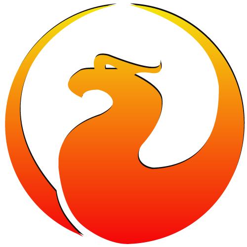 Firebird Logo Wallpaper