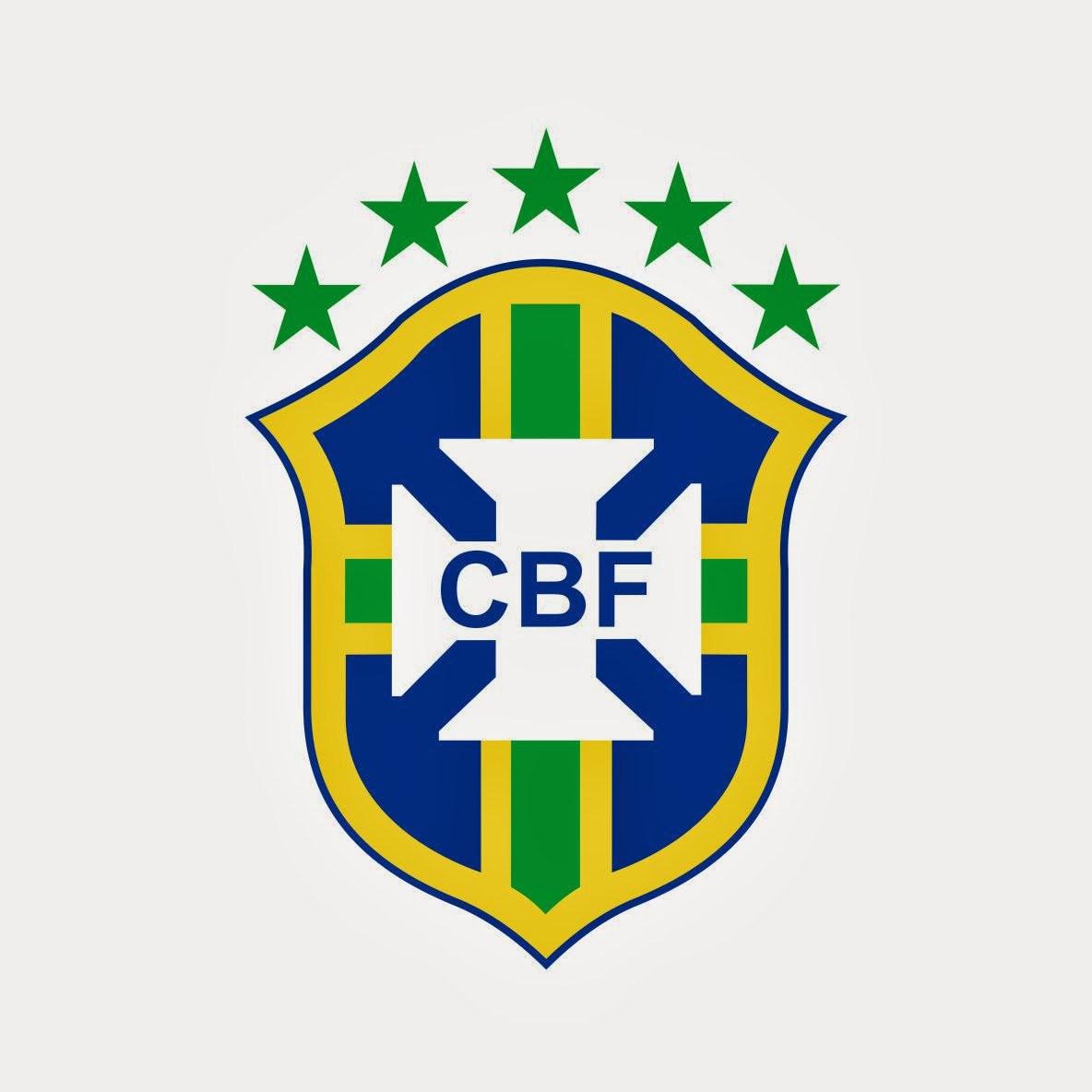 Brazil Football Club Emblem Wallpaper