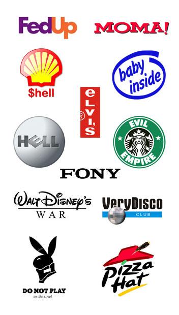 Funny Logo Wallpaper