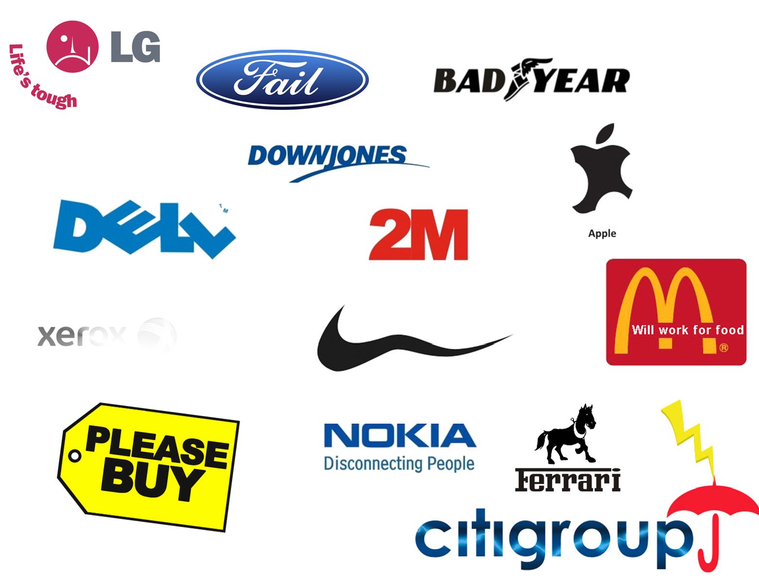 Funny Logos Wallpaper