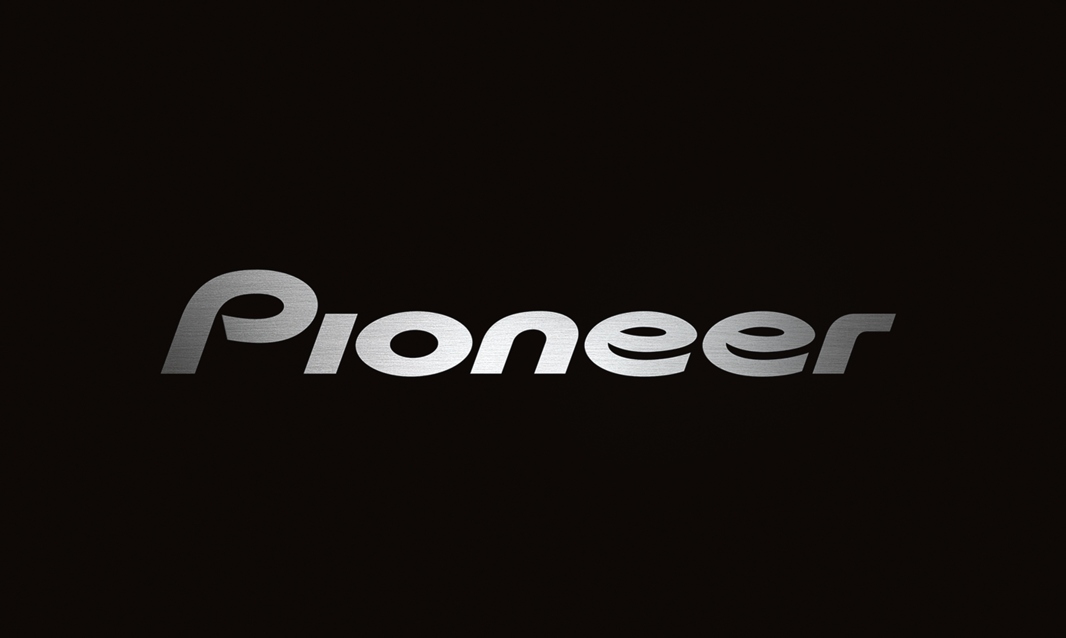 Pioneer Logo Wallpaper