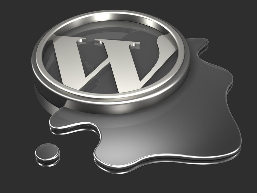 WordPress Logo Wallpaper
