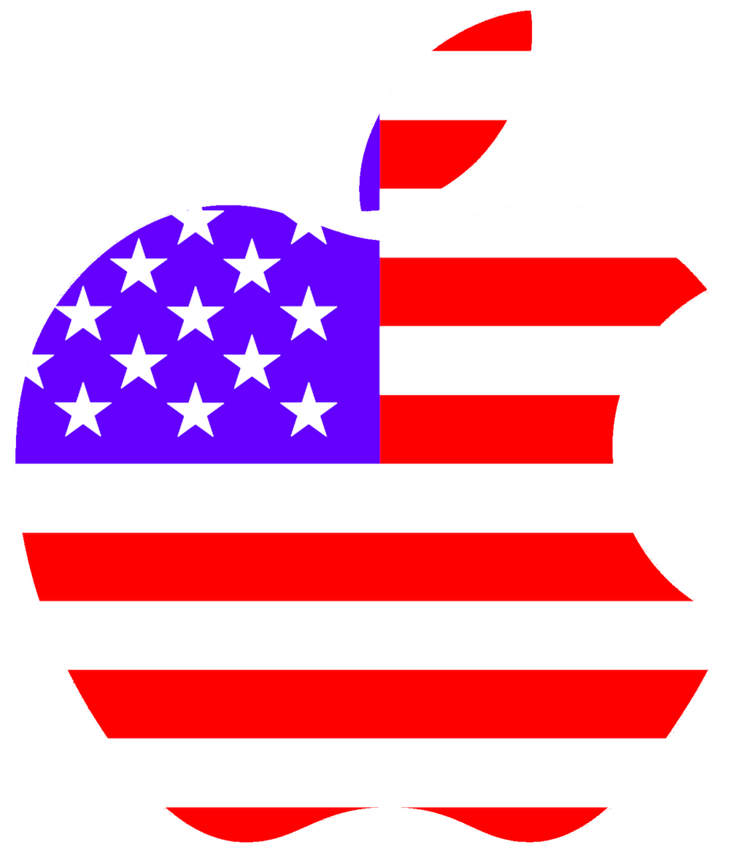 Apple USA Logo Wallpaper